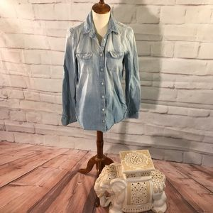 American Eagle Outfitters Chambray Shirt